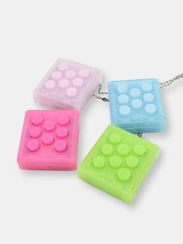 商品Puchi Pop Sound Keychain Fidget Toy pack of 2]图片