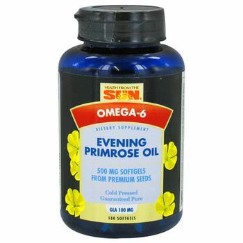 商品Health From The Sun Evening Primrose Oil Original 500 Mg Soft Gels - 180 Ea图片