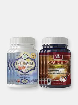 商品L-Glutamine and L-Carnitine Extra Strength Combo Pack图片