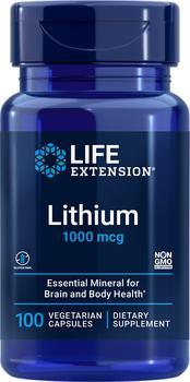 商品Life Extension Lithium - 1000 mcg (100 Capsules)图片