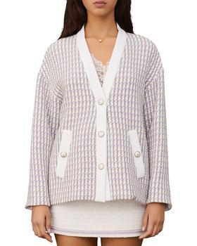 商品女士 Vido Tweed系列 SS21羊毛开衫夹克图片