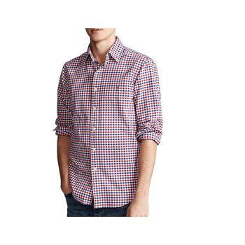商品Men's Classic-Fit Checked Oxford Shirt图片