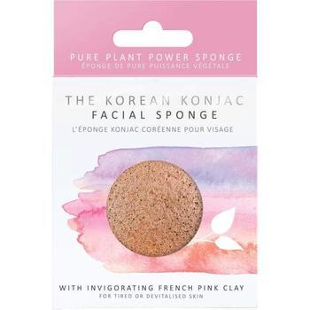商品Konjac Sponge Premium Face Sponge Pink Clay 1sponge图片