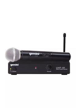 商品Single Channel UHF Wireless Microphone System with Handheld Microphone图片