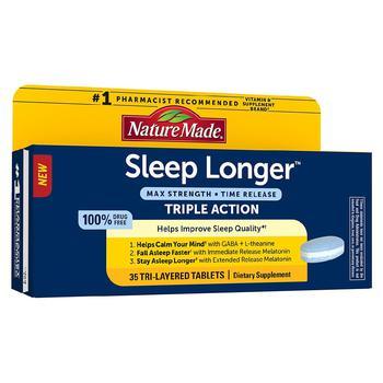 商品安睡更久褪黑素 10 毫克 图片