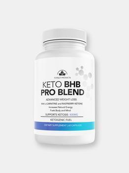 商品Totally Products Keto BHB PRO Blend with Raspberry and L-Carnitine for Weight Loss图片