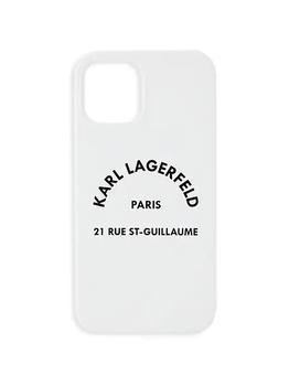 商品Karl Liquid Silicone iPhone 12/12 Pro Case图片