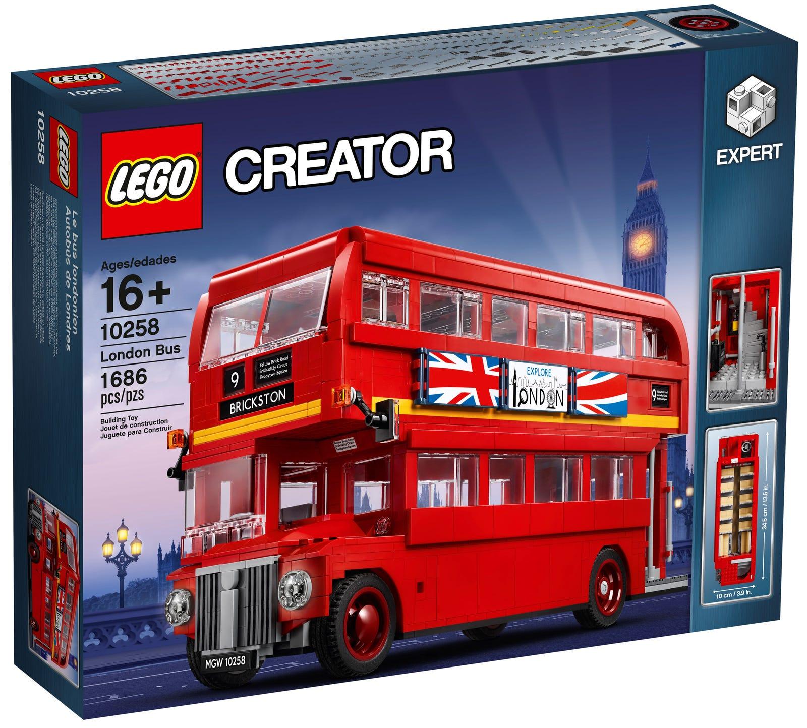 商品包邮 | creator系列伦敦双层巴士 10258【G洛杉矶直发】图片