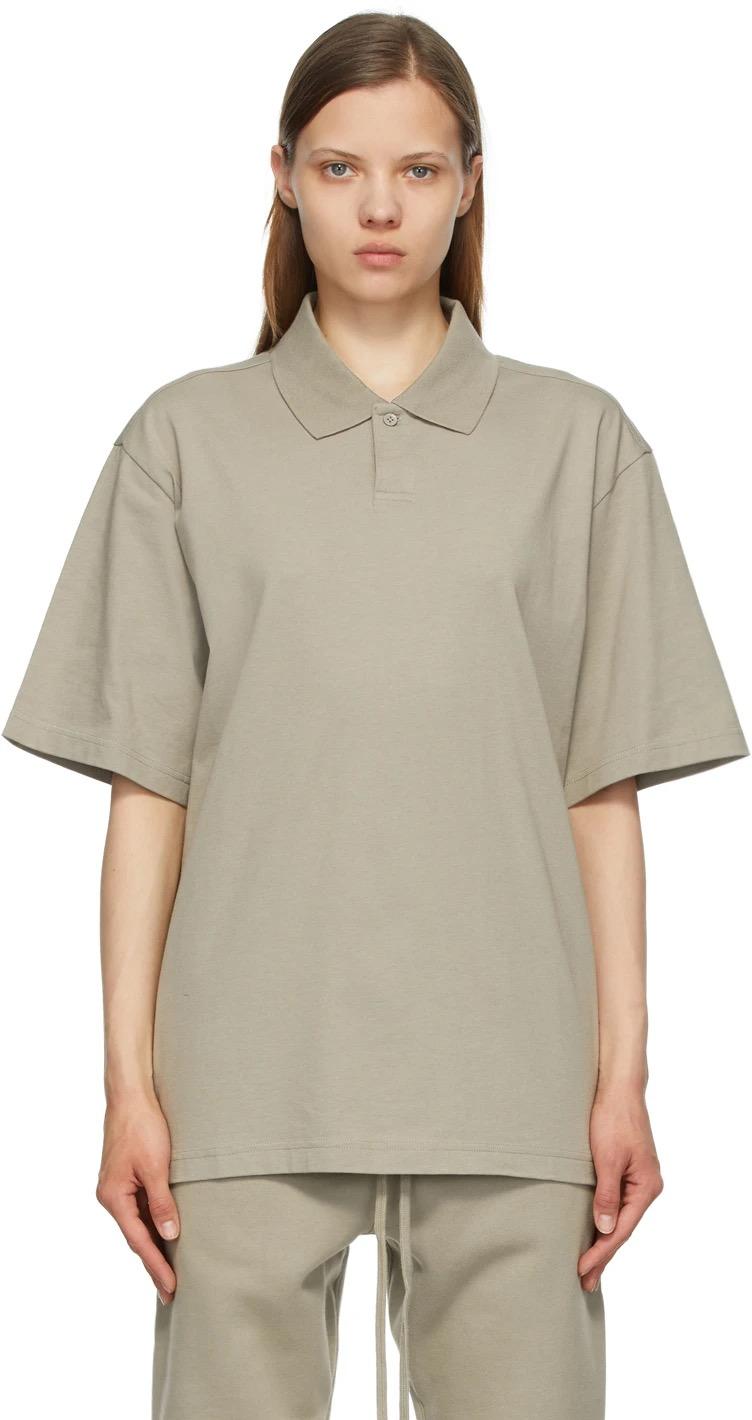 商品包邮|Essentials 背后Logo短袖polo衫|包邮【S北美特拉华直发】图片