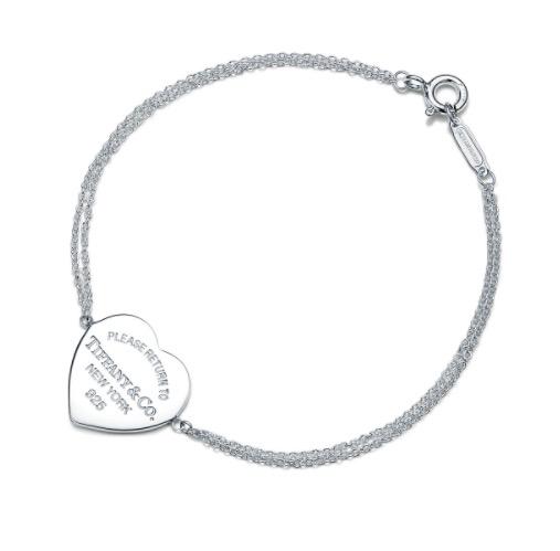 商品Return to Tiffany double chain bracelet, medium  |包邮【Z洛杉矶直发】图片