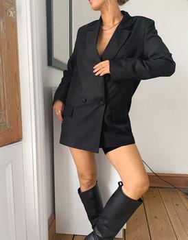 商品ASOS DESIGN perfect blazer in black图片