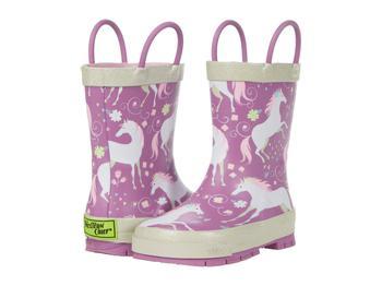 商品Fancy Horse Rain Boots (Toddler/Little Kid/Big Kid)图片