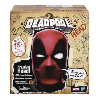 商品Hasbro Marvel Legends Premium Interactive Deadpool Head图片