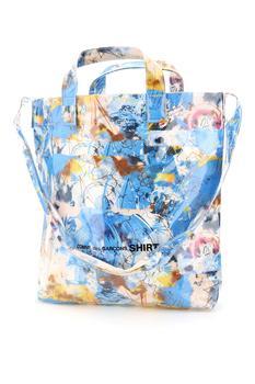 商品Comme des Garçons Shirt Futura Tote Bag - Only One Size / Multi图片