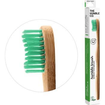 商品Soft bamboo toothbrush in green图片