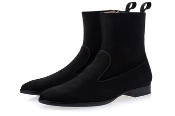 商品HARLEY SOFTY BLACK ANKLE BOOTS图片