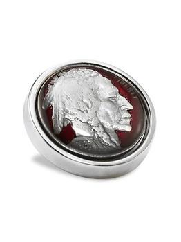 商品Sterling Silver Nickel Lapel Pin图片