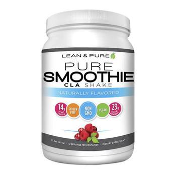 商品Lean and Pure Smoothie CLA Shake Naturally Flavored, 17.4 Oz图片