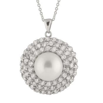 商品Bella Pearl Sterling Silver Pendant NSR-120图片