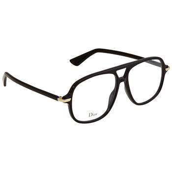 商品Dior Black Aviator Eyeglasses DIORESSENCE16图片