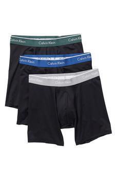 商品男士平角内裤 3件装图片