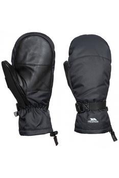 商品Trespass Unisex Adults Adarek Leather Ski Mitt (Black)图片