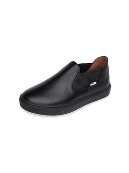 商品Little Boy's & Boy's Carter Leather Slip-On Shoes图片