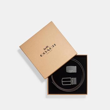商品COACH Mod Plaque Harness Cut To Size Reversible Belt图片