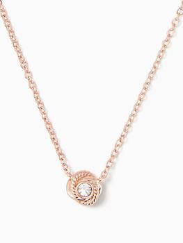 商品infinity & beyond knot mini pendant图片