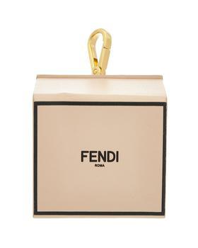 商品Fendi Box Leather Key Ring图片