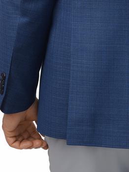商品Paul Fredrick Tailored Fit Italian Wool Double Breasted Peak Lapel Sport Coat图片