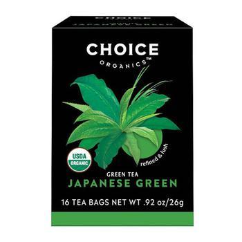 商品Choice Organics Japanese Green Tea - 16 Bags图片