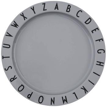商品儿童用深口盘 - 灰色图片