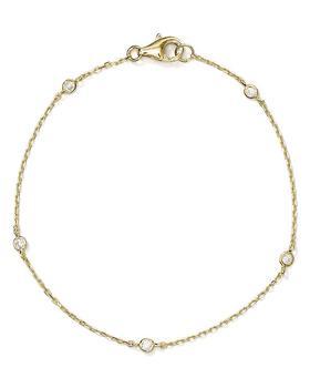 商品Sterling Silver Thin Chain Bracelet - 100% Exclusive图片