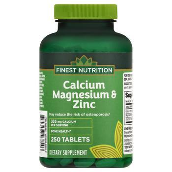 商品Calcium Magnesium Zinc Tablets图片