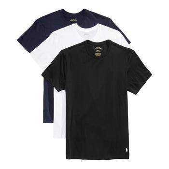 商品 Ralph Lauren 男士纯棉T恤 3件套 经典款图片