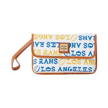 商品Los Angeles Rams Doodle Milly Wristlet图片