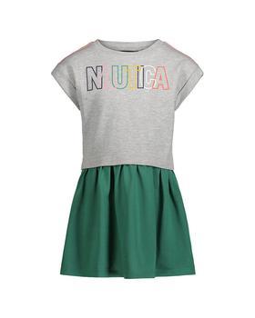 商品Nautica Mixed Media Dress图片