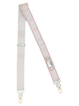 商品Chiara Ferragni Eyelike Jacquard Shoulder Strap - Only One Size / Grey图片