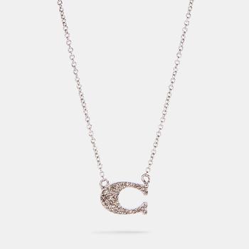 商品COACH Pave Signature Necklace图片