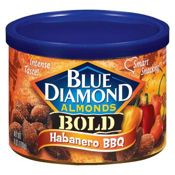 商品blue Diamond Bold烤杏仁烧烤味图片