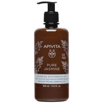商品APIVITA Pure Jasmine Shower Gel with Essential Oils 16.9 fl.oz图片