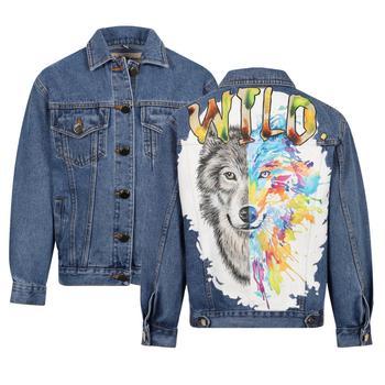 商品TATMAN HANDMADE - Denim Jacket, Blue, Girl, 12-14 yrs图片