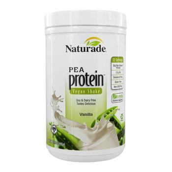 商品Naturade Pea Protein Powder Vegan Shake Vanilla, 15.6 Oz图片