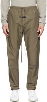 商品男款 Taupe系列 抽绳运动裤 灰褐色图片