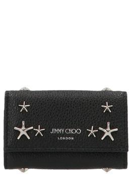 商品Jimmy Choo Neptune Key Holder - Only One Size / Black图片