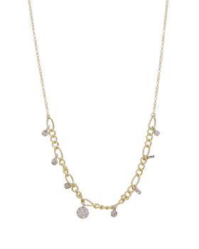 商品Meira T 14K 0.11 Ct. Tw. Diamond Necklace图片