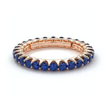 商品The Eternal Fit Sapphire Eternity Ring图片