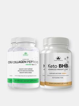 商品Hydrolized Collagen Peptides plus Keto BHB Combo Pack图片