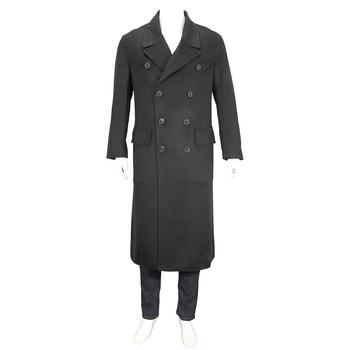 商品Burberry Double-faced Cashmere Tailored Coat, Brand Size 44图片